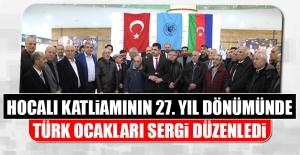 Hocalı Katliamının 27. Yıl Dönümünde Türk Ocakları Sergi Düzenledi
