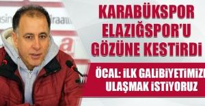 Karabükspor, Elazığspor'u Gözüne Kestirdi