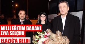 Milli Eğitim Bakanı Ziya Selçuk Elazığ'a Geldi
