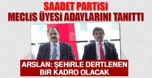 Saadet Partisi, Meclis Üyesi Adaylarını...
