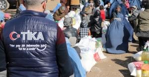 TİKA'dan Afganistan'daki ihtiyaç sahibi bin aileye yardım