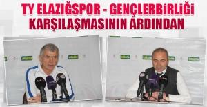 TY Elazığspor - Gençlerbirliği Karşılaşmasının Ardından