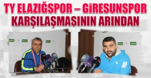 TY Elazığspor – Giresunspor Karşılaşmasının Ardından