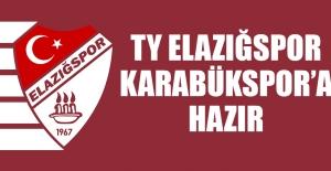 TY Elazığspor, Karabükspor'a Hazır