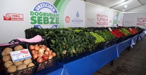 14 bin ton meyve ve sebze uygun fiyatla tüketiciye sunuldu