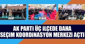 AK Parti; Ağın, Keban ve Baskil'de SKM Açtık