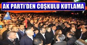 AK Parti'den Ahmet Aytar Meydanı'nda Coşkulu Kutlama