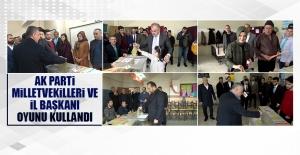 AK Parti Elazığ Milletvekilleri ve İl Başkanı Oylarını Kullandılar