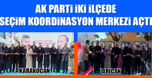 AK Parti İki İlçede Daha SKM Açtı