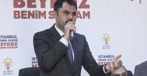 Bakan Kurum: Kentsel dönüşümü kararlı bir şekilde yürütmek istiyoruz