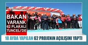 Bakan Varank, 62 Projenin Açılışını Yaptı