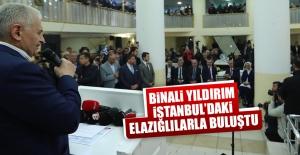 Binali Yıldırım, İstanbul#039;daki...