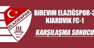 Birevim Elazığspor 3-1 Njardvik FC