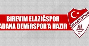 Birevim Elazığspor, Adana Demirspor'a Hazır