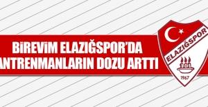 Birevim Elazığspor'da Antrenmanların Dozu Arttı