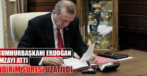 Cumhurbaşkanı Erdoğan İmzayı Attı,...