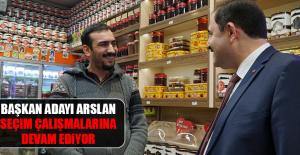Elazığ Belediye Başkan Adayı Haluk Arslan Seçim Çalışmalarına Devam Ediyor
