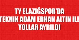 Elazığspor'da Erhan Altın İle Yollar Ayrıldı