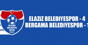 Elaziz Belediyespor 4-1 Bergama Belediyespor