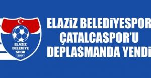 Elaziz Belediyespor, Çatalcaspor'u Deplasmanda Yendi