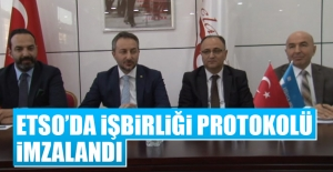 ETSO'da İşbirliği Protokolü İmzalandı