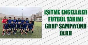 İşitme Engelliler Futbol Takımı Grup Şampiyonu Oldu