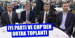 İYİ Parti ve CHPden Ortak Toplantı