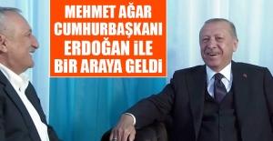 Mehmet Ağar, Cumhurbaşkanı Erdoğan...