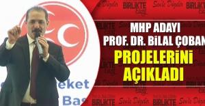 MHP Adayı Prof. Dr. Çoban, Projelerini Anlattı