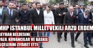 MHP İstanbul Milletvekili Arzu Erdem'in Elazığ'daki Ziyaretleri