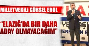 Milletvekili Gürsel Erol, Yazıkonak'ta Konuştu