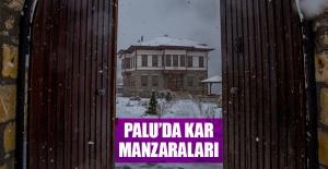 Palu'da Kar Manzaraları
