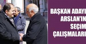 Saadet Partisi Elazığ Belediye Başkan Adayı Arslan'ın Seçim Çalışmaları