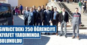 Sivrice'deki 250 Öğrenciye Kıyafet Yardımında Bulunuldu