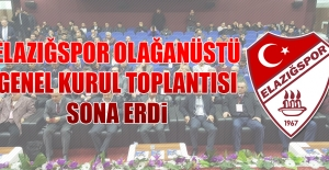 Tetiş Yapı Elazığspor'da Olağanüstü Genel Kurul Toplantısı