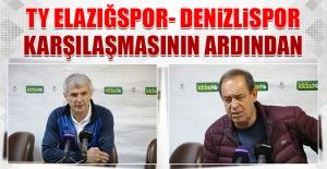 TY Elazığspor- Denizlispor Karşılaşmasının Ardından