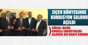 ZİÇEV Bünyesinde Kondisyon Salonu Açıldı