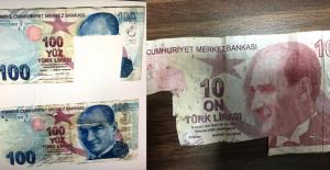10 Liradan 200 Lira Yapıp Bankaları Dolandırdılar