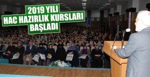 2019 Yılı Hac Hazırlık Kursları Başladı