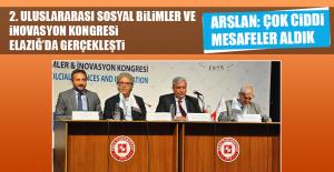 2. Uluslararası Sosyal Bilimler ve İnovasyon Kongresi Elazığ'da Gerçekleşti