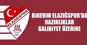 B.Elazığspor'da Hazırlıklar Galibiyet Üzerine