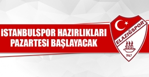 Birevim Elazığspor'da İstanbulspor Hazırlıkları Pazartesi Başlayacak
