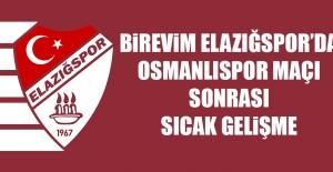 Birevim Elazığspor'da Sıcak Gelişme!