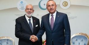 Dışişleri Bakanı Çavuşoğlu Libyalı mevkidaşıyla görüştü