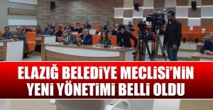 Elazığ Belediyesi'nin İlk Meclis Toplantısı
