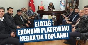 Elazığ Ekonomi Platformu Keban'da Toplandı
