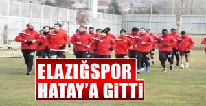Elazığspor Hatay'a Gitti