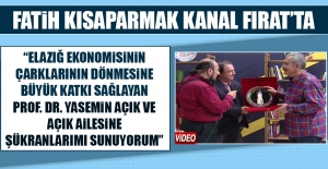 Fatih Kısaparmak'tan Prof. Dr. Yasemin Açık İle İlgili Övgü Dolu Sözler