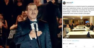 Haluk Levent, Tepki Gösterdiği ODTÜ Yönetimiyle Bir Araya Geldi