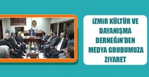 İzmir Elazığ Kültür Ve Dayanışma Derneğin'den Medya Grubumuza Ziyaret